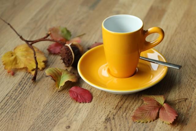 Herbst mit Kaffee
