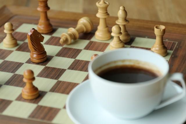 Schach Winterzeit