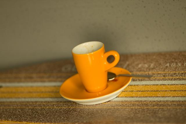 Espressotasse gelb von Walküre - Einfach nur Kaffee