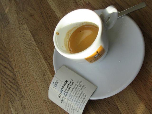 Äthiopien Espresso - Einfach nur Kaffee