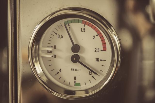 Druck Espressomaschine - Einfach nur Kaffee