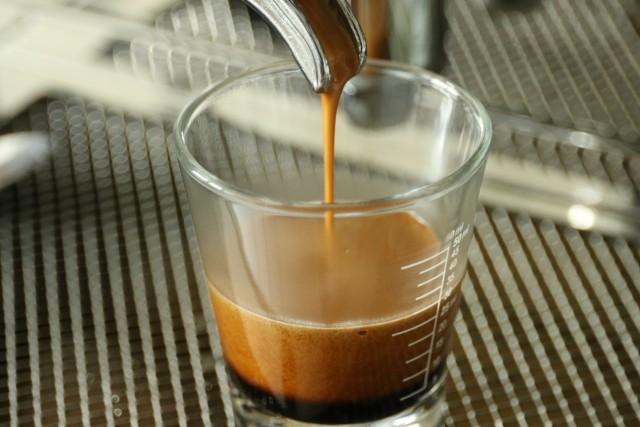 Espresso Shotglas Bezug Einfach nur Kaffee