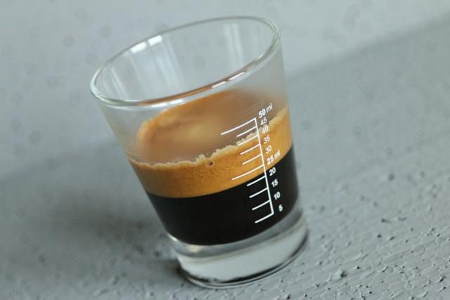 Espresso Shotglas Einfach nur Kaffee