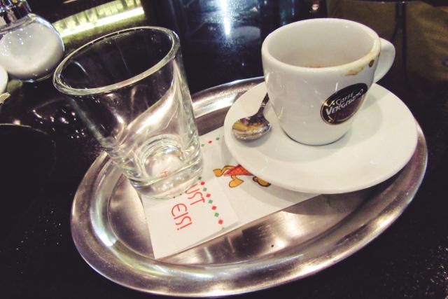 Gelatone Vergnano Espresso - Einfach nur Kaffee