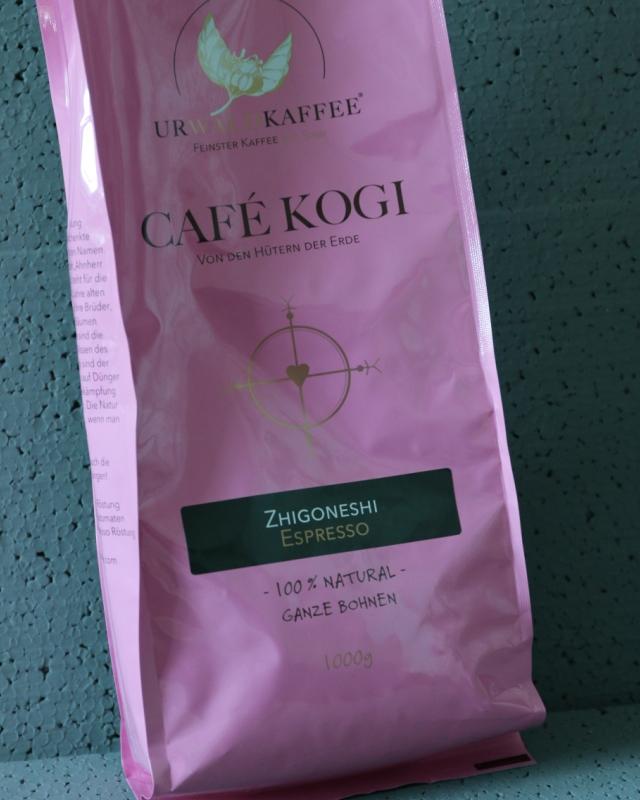 KOGI Urwaldkaffee Espresso - Einfach nur Kaffee