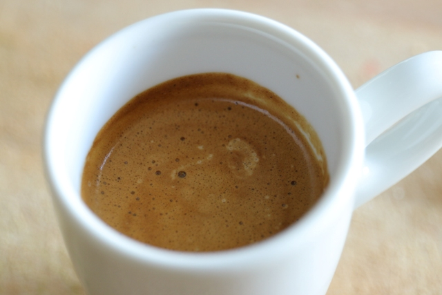 KOGI Urwaldkaffee Espressotasse - Einfach nur Kaffee