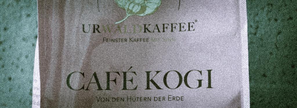 Slider KOGI Urwaldkaffee - Einfach nur Kaffee