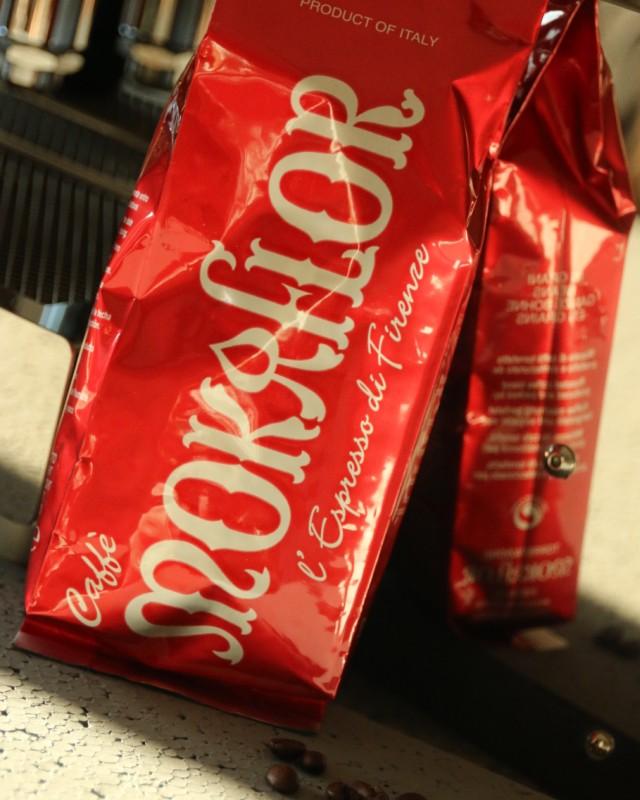 Mokaflor Packung Espresso - Einfach nur Kaffee